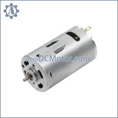 RS-395 diameter 27.7mm,28mm carbon brush mini dc motor