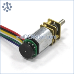 GM12-M20-EN, GM20-M20VA-EN dia 12mm mini dc motor with encoder metal spur gear dc motor